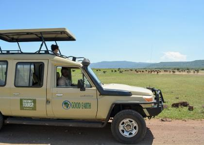 Privat safari i egen safaribil