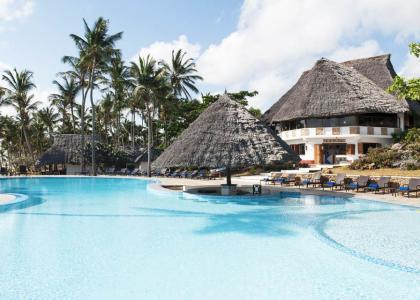 Børnevenlig ressort på Zanzibar