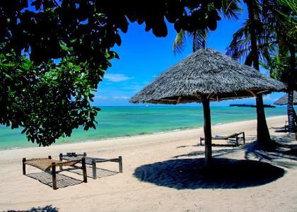 Rigtig bounty strand ved Zanzibar