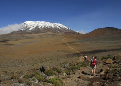 Kilimanjaro er Afrikas højeste bjerg