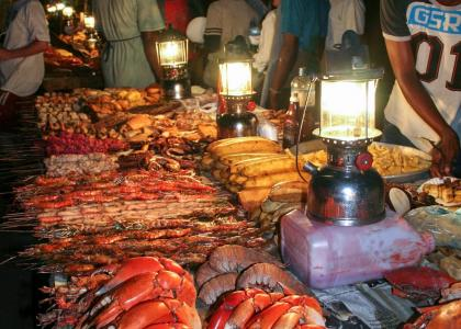 Madmarkedet i Stone Town er en kulinarisk oplevelse