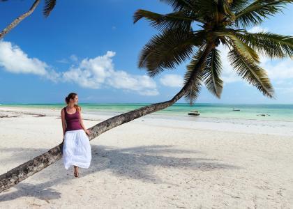 Zanzibar er fyldt med dejlige strande